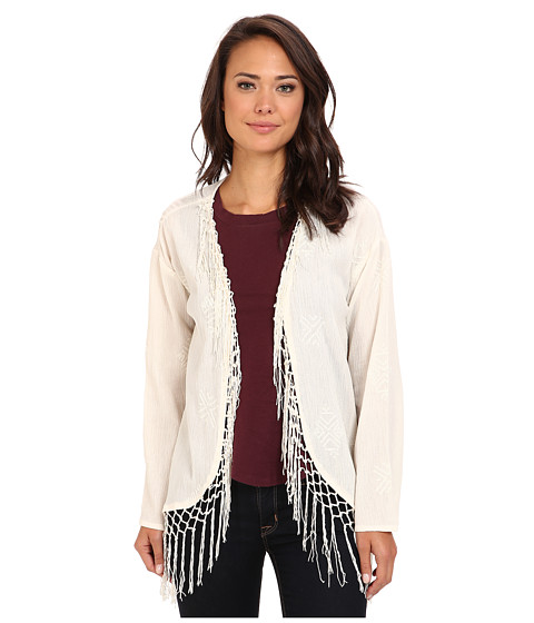 Billabong - Last Minute Wave Cardigan (White Cap) Women's Sweater