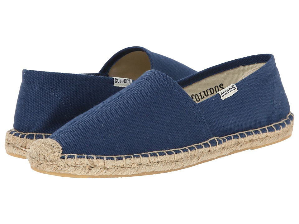 Soludos - Original Canvas Dali (Dali Navy) Women's Slip on Shoes