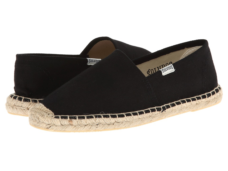 Soludos - Original Canvas Dali (Dali Black) Women's Slip on Shoes