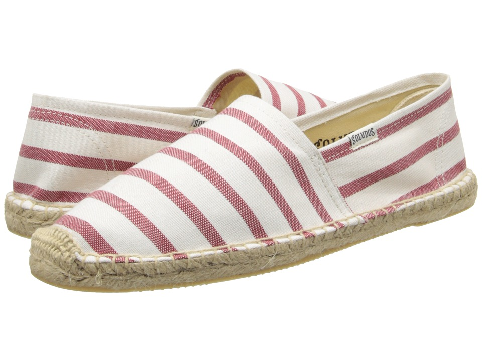 Soludos - Original Classic Stripes: Breton Inspired Chic (Classic Stripe White/Red) Women's Shoes