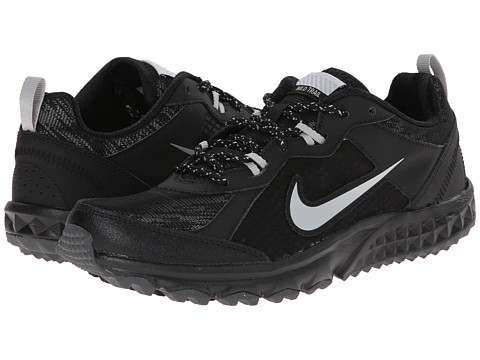 Nike - Wild Trail Flash (Black/Metallic Silver/Metallic Dark Grey/Dark Grey) Women's Running Shoes