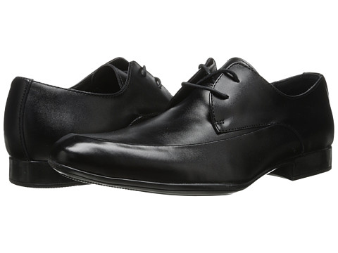 Calvin Klein - Geoff (Black Leather) Men's Shoes