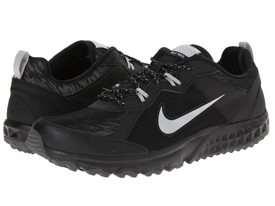 Nike - Wild Trail Flash (Black/Metallic Silver/Metallic Dark Grey/Dark Grey) Men's Running Shoes