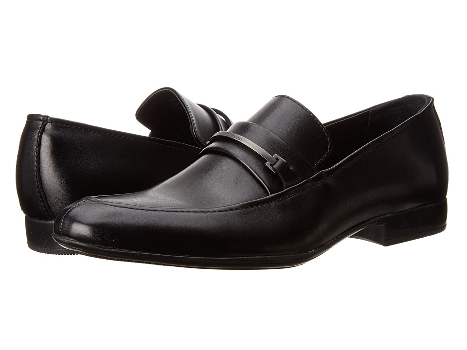 Calvin Klein - Garone (Black Leather) Men