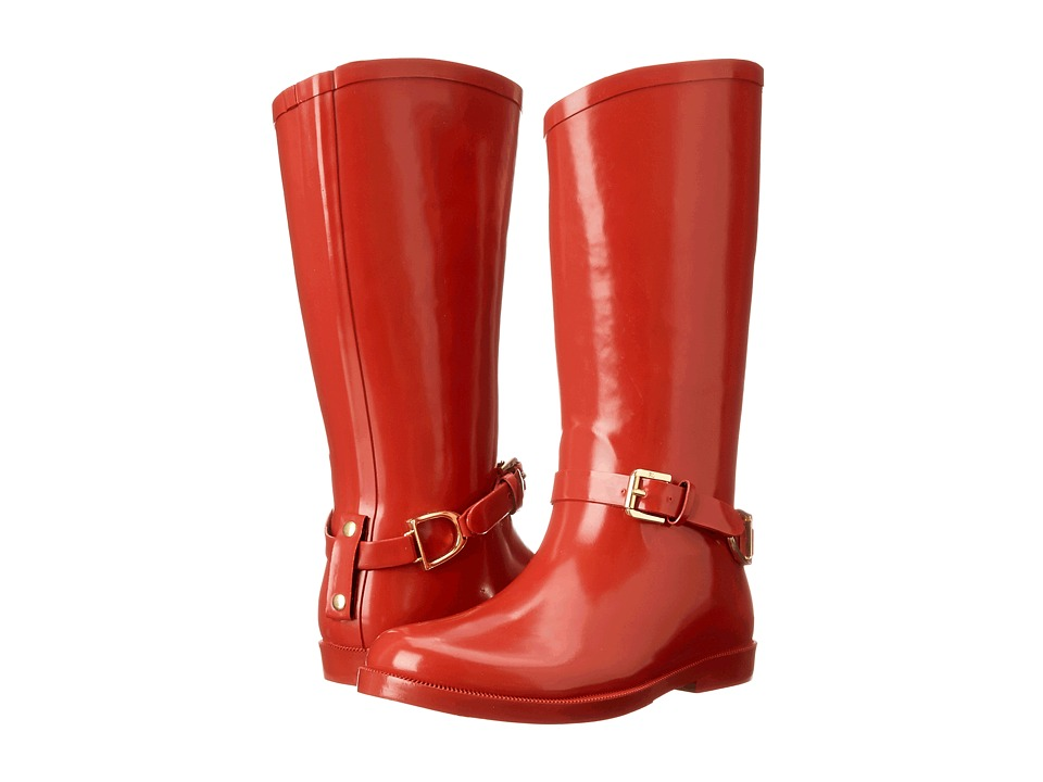 Polo Ralph Lauren Kids - Ollivia FT14 (Little Kid/Big Kid) (Red Rubber) Girls Shoes