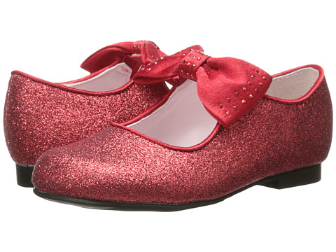 Nina Kids - Belina (Toddler/Little Kid) (Red Glitter) Girls Shoes