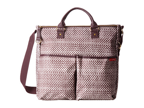 Skip Hop - Duo Special Edition Diaper Bag (Plum Sketch/Off White) Diaper Bags