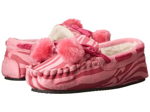 Stride Rite - Glitter Moc (Toddler/Little Kid) (Pink Multi) Girls Shoes