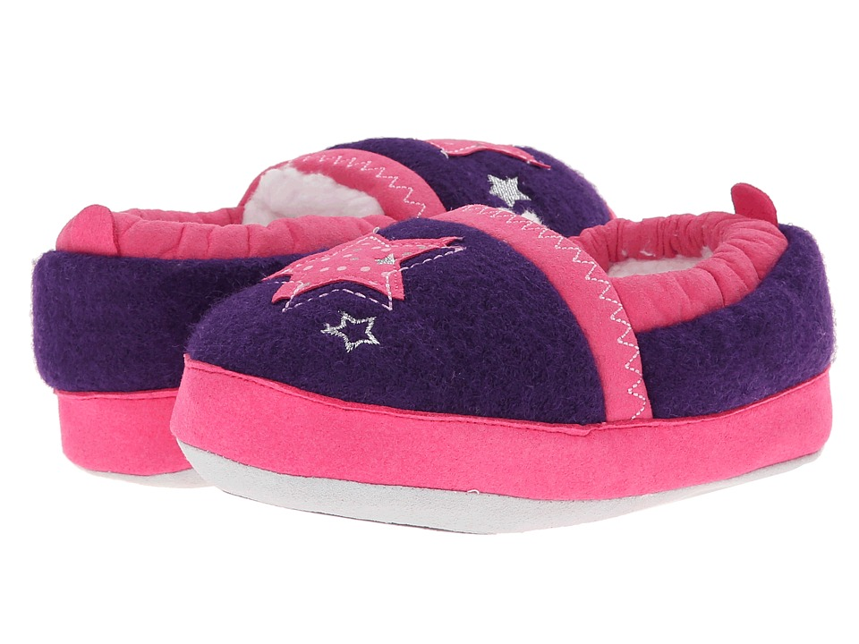 Stride Rite - Star A-Line w/ 2PC Runner PC Outsole (Toddler/Little Kid) (Purple) Girls Shoes