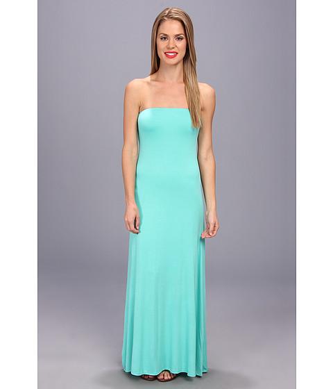 Brigitte Bailey - Strapless Maxi Dress (Seafoam) Women's Dress