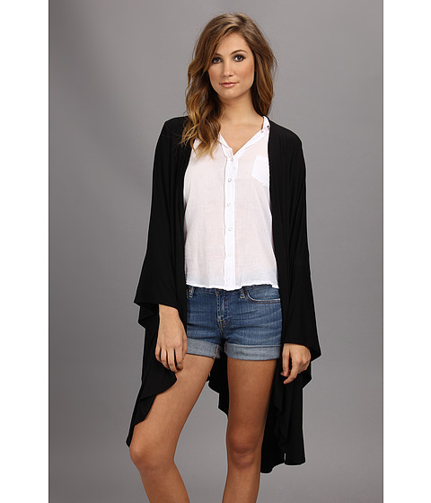Culture Phit - Wrap Cardigan (Black) Women