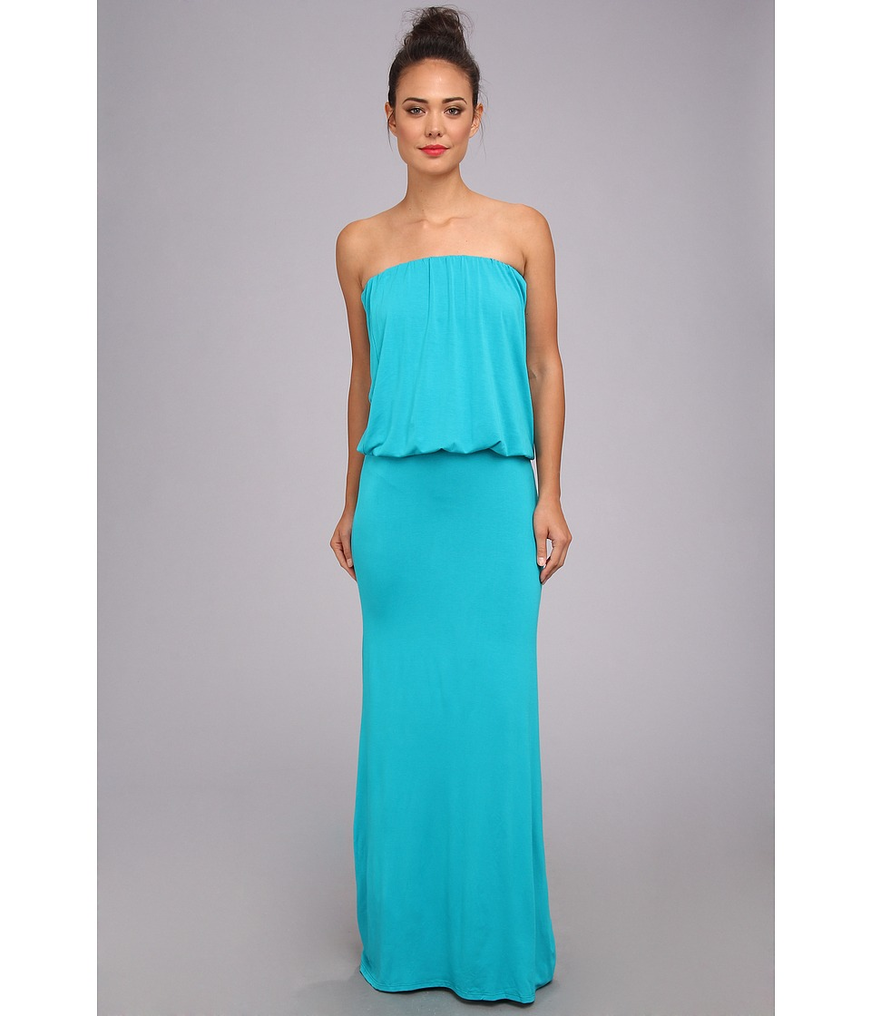 Culture Phit - Riena Maxi Dress (Teal) Women's Dress
