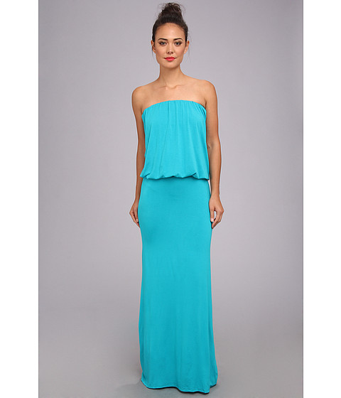 Culture Phit - Riena Maxi Dress (Teal) Women's Dress