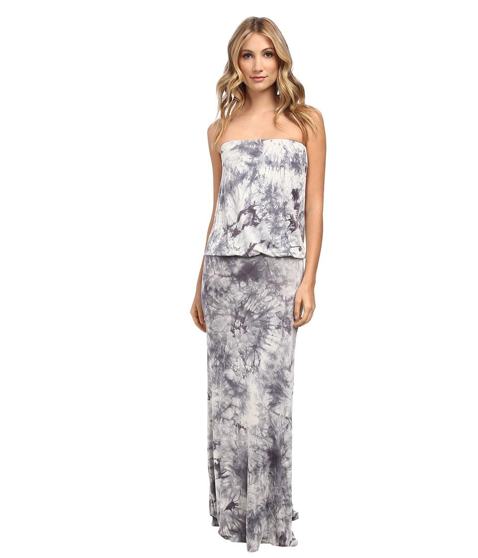 Culture Phit - Riena Maxi Dress (Grey Tye Dye) Women's Dress