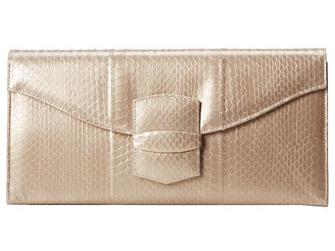 Oscar de la Renta - East West Grafton (Gold) Clutch Handbags