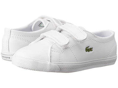 Lacoste - Marcel S Cla FA14 (Toddler/Little Kid) (White/White) Men