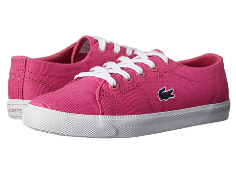 Lacoste - Marcel L Sum FA14 (Little Kid) (Dark Pink/Dark Pink) Women