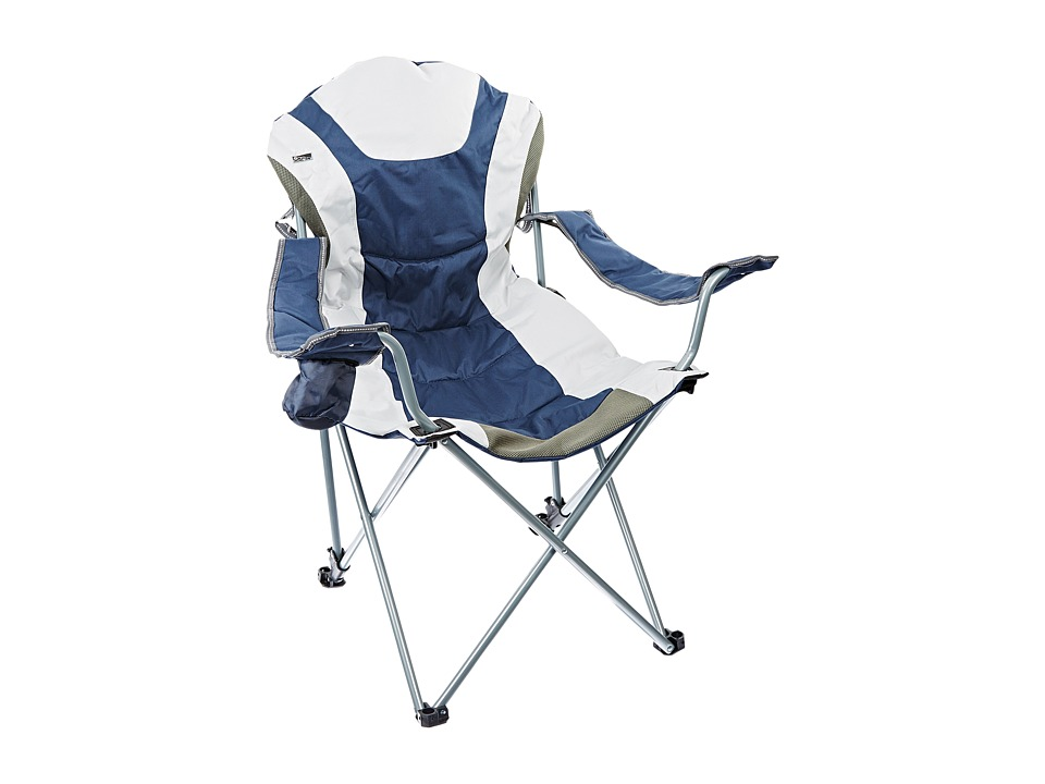 Picnic Time - Reclining Camp Chair (Navy) Individual Pieces Cookware