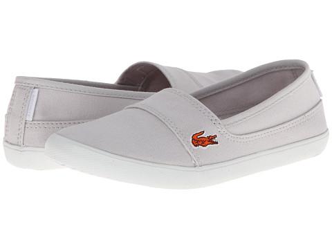Lacoste - Marice Sum FA14 (Little Kid/Big Kid) (Light Grey/Light Grey) Women's Shoes