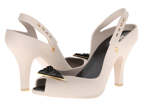 Melissa Shoes - Lady Dragon (Beige) High Heels
