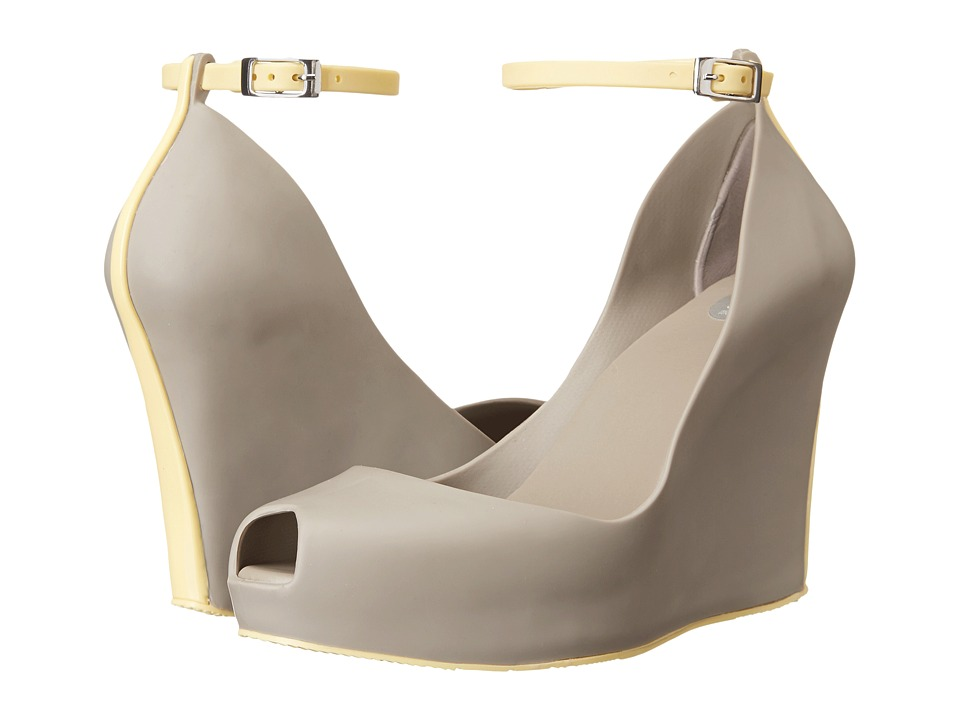 Melissa Shoes Patchuli VII (Grey Yellow) Women