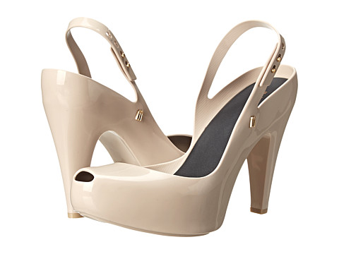 Melissa Shoes - Ultragirl Heel (Beige Black) Women