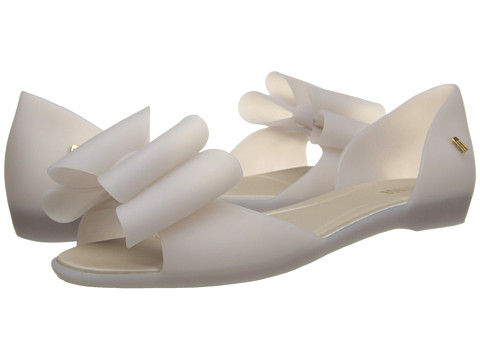 Melissa Shoes - Seduce VII (Off White Bow) Women
