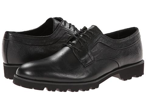 Calvin Klein - Lenn (Black Leather) Men's Shoes