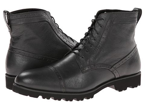 Calvin Klein - Levin (Dark Charcoal Leather) Men
