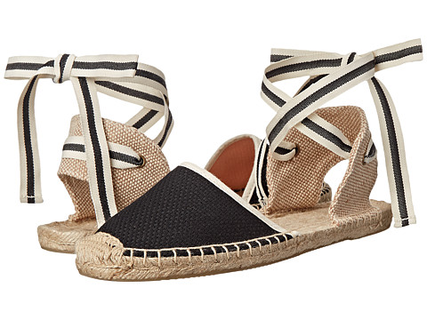 Soludos - Classic Sandal Woven (Woven Black) Women's Shoes