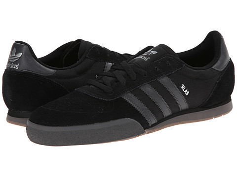 adidas Skateboarding - Silas SLR (Black/DGH Solid Grey/Gum 5) Men's Skate Shoes