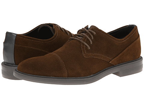 Calvin Klein - Upton (Chestnut Suede) Men's Lace up casual Shoes