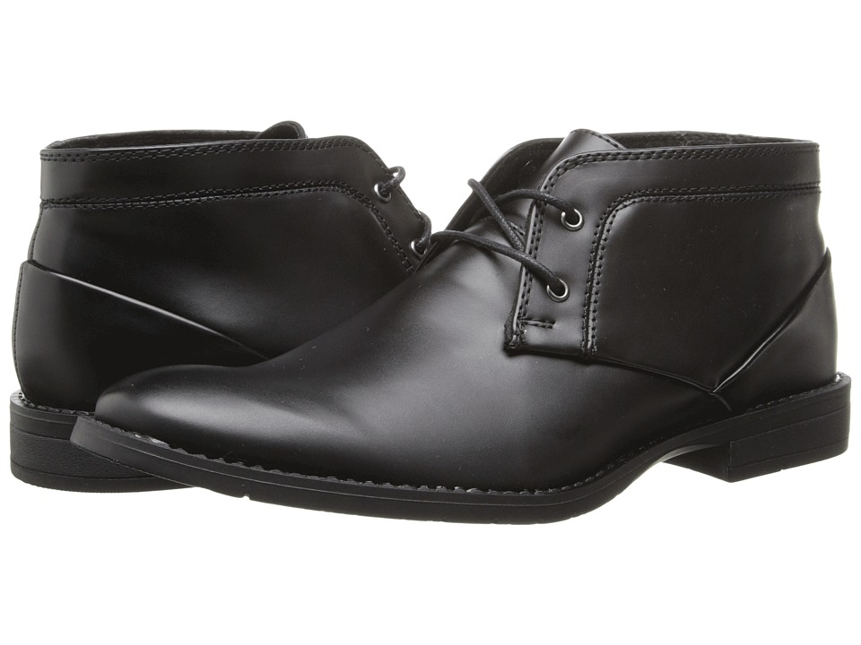 Calvin Klein - Warden (Black Smooth) Men's Shoes