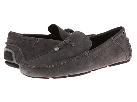 Calvin Klein - Macon (Grey Suede) Men's Shoes