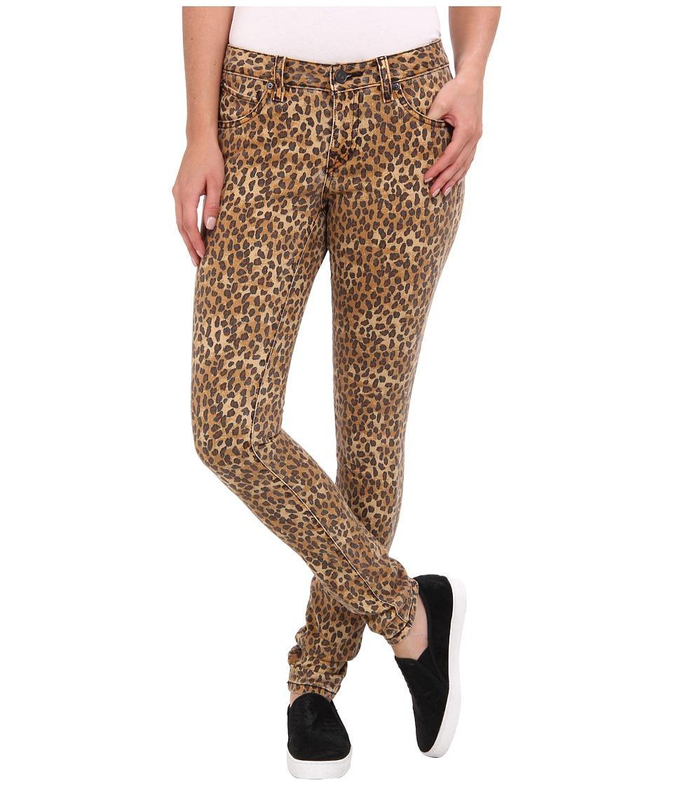 Volcom - Super Stoned Skinny Jean (Leopard) Women's Jeans