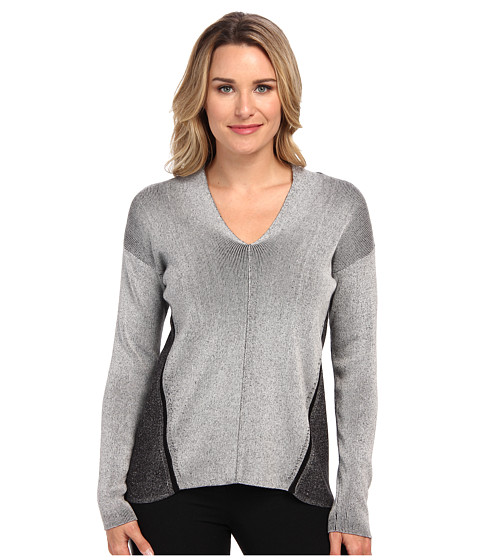NIC+ZOE - Whirlwind Pullover (Black Mix) Women's Long Sleeve Pullover