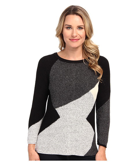 NIC+ZOE - Geo Pop Top (Multi) Women's Sweater