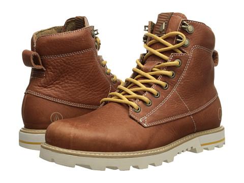 Volcom - Smithington (Rust) Men's Lace-up Boots