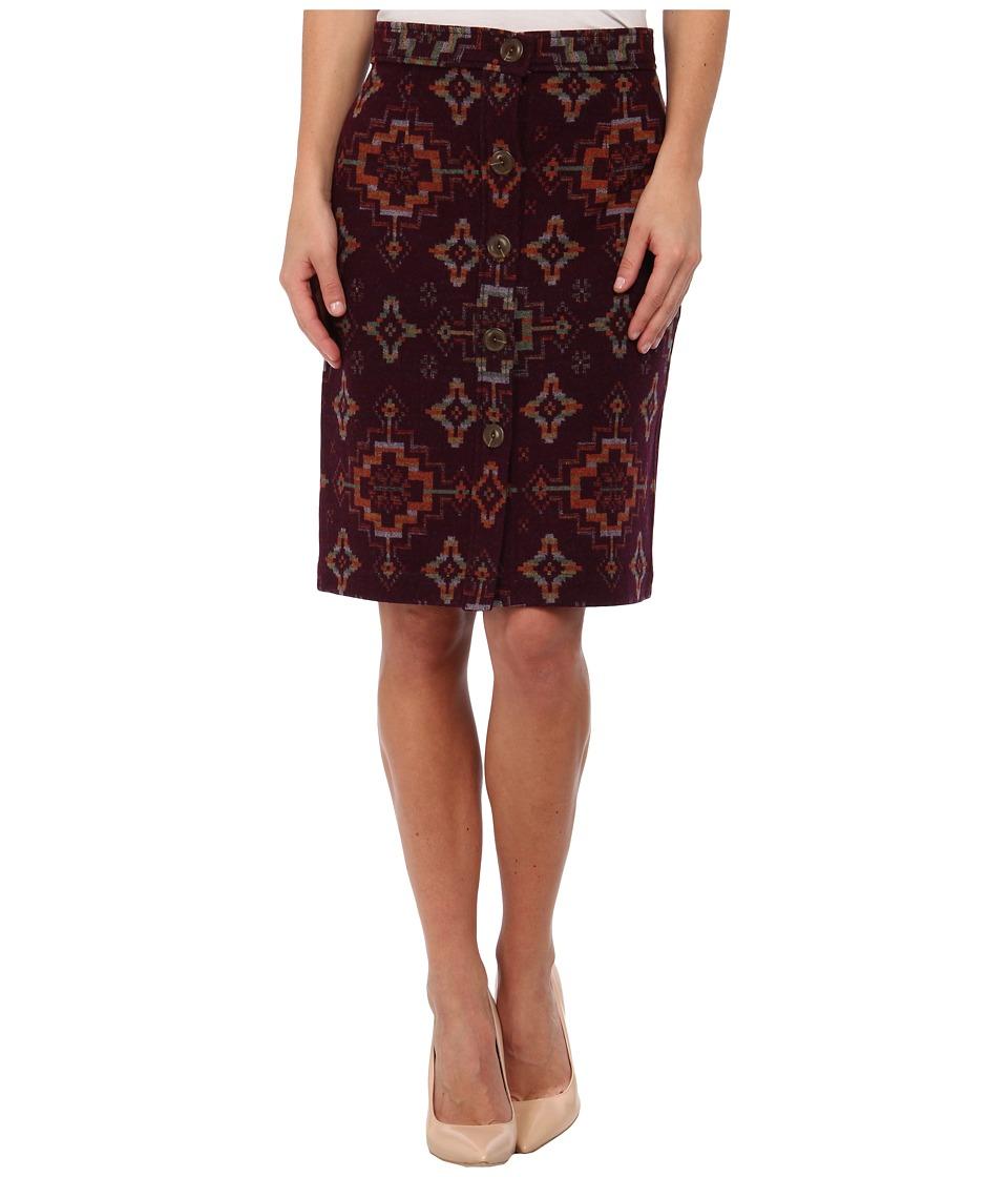 Pendleton - Reversible Marguerite Skirt (Beaded Bandolier Jacquard) Women's Skirt