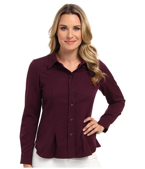 Pendleton - Worsted Wool Ponderosa Shirt (Augergine Worsted) Women