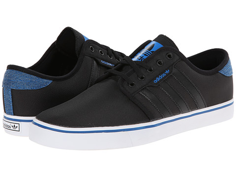adidas Skateboarding - Seeley (Black/Black/Bluebird (Winterized)) Men