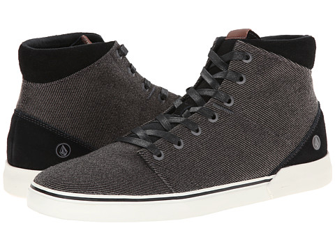 Volcom - Buzzard (Black Combo) Men's Lace up casual Shoes