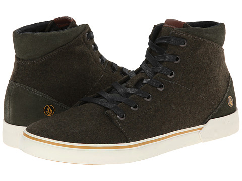 Volcom - Buzzard (Dark Green) Men's Lace up casual Shoes