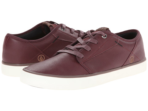 Volcom - Grimm (Merlot Leather) Men's Shoes