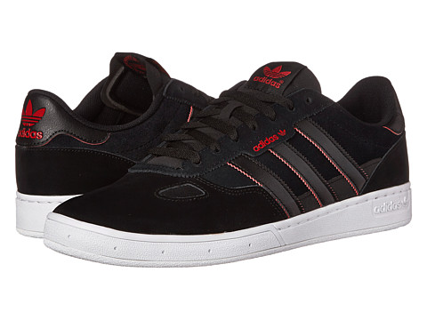 adidas Skateboarding - Ciero (Black/Black/Power Red) Men's Skate Shoes