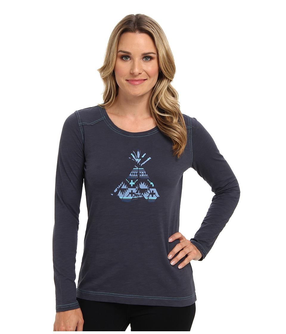Pendleton - Teepee Tee (Indigo Multi Print) Women's T Shirt