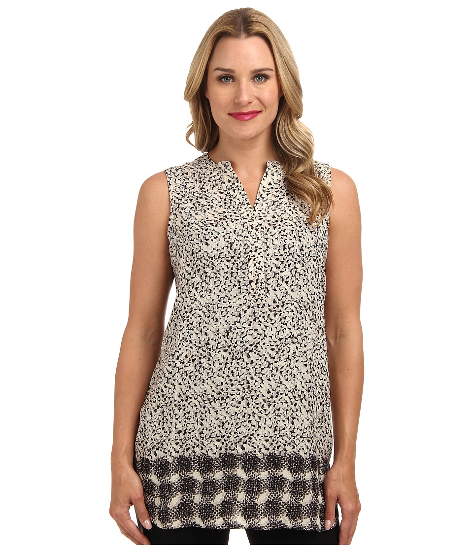 NIC+ZOE - Scattered Dots Tunic Top (Multi) Women