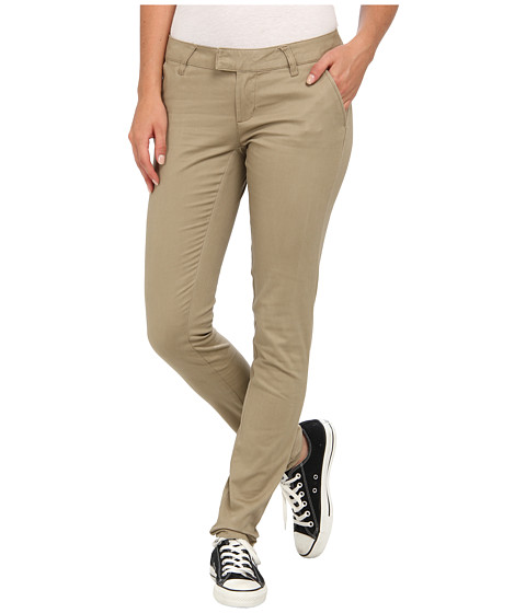 Volcom - Frochickie Pant (Khaki) Women's Casual Pants