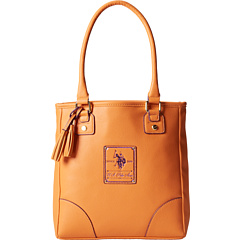 SALE! $54.99 - Save $24 on U.S. Polo Assn Ascot Tote (Yellow Purple) Bags and Luggage - 30.39% OFF $79.00