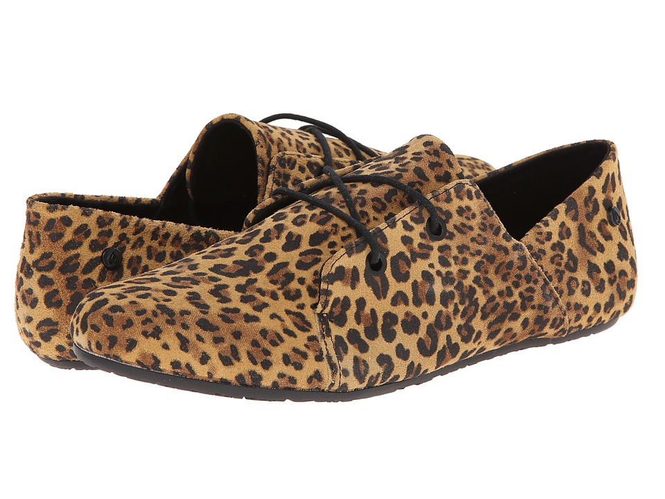 Volcom - Soul Mates (Animal Print) Women's Lace up casual Shoes